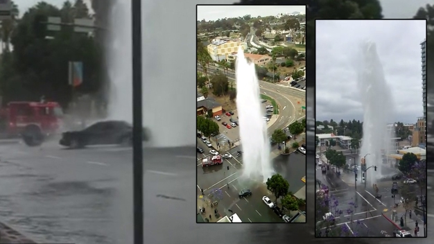 Witness: Driver 'Was Drowning' in Hydrant Crash
