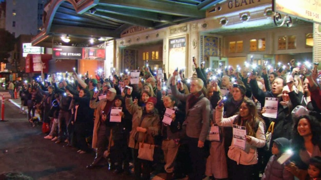 Hundreds 'Shine a Light' For Ghostlight Project in SF