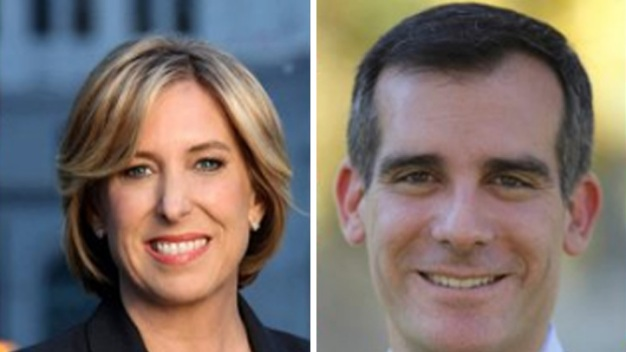LA Mayoral Candidates Get Out the Vote
