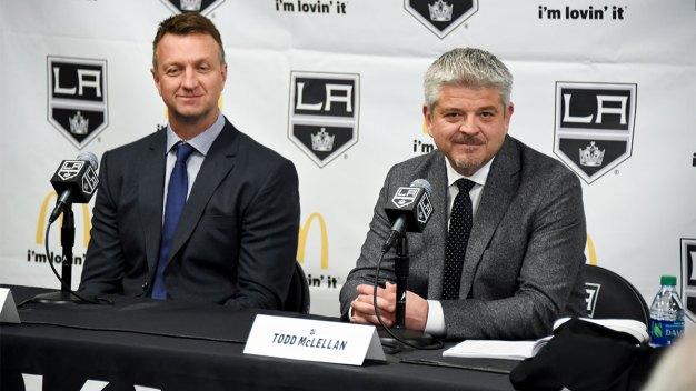 Todd McLellan Introduced as LA Kings' 29th Head Coach