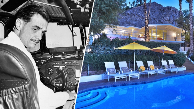 Billionaire Playboy Howard Hughes' Palm Springs Home Sold}
