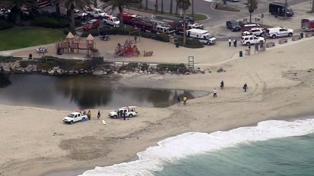 Boy Rescued in Laguna Beach After Becoming Trapped in the Sand