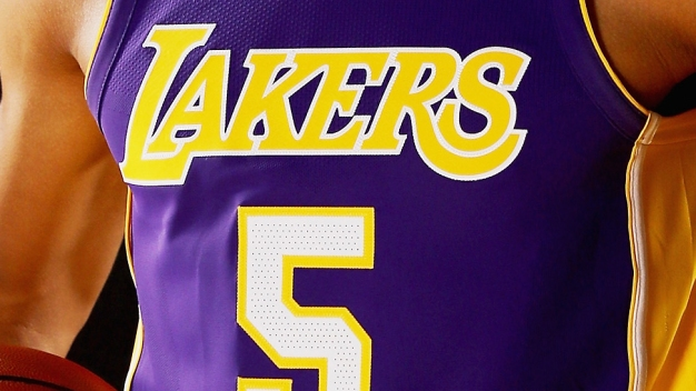 Lakers Announce Which Company's Logo They'll Wear on Jerseys