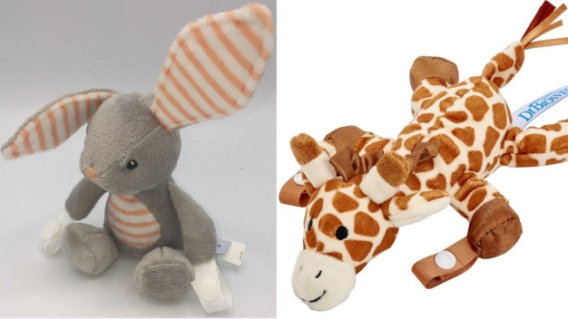 Animal-Shaped Pacifier and Teether Holders Recalled}