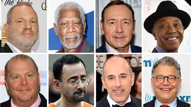 The Powerful Men in the News Accused of Sexual Misconduct