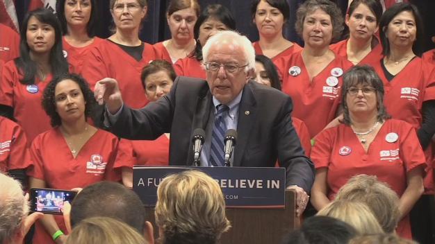'Comebacks:' Bernie Sanders to Visit Emeryville, Santa Cruz