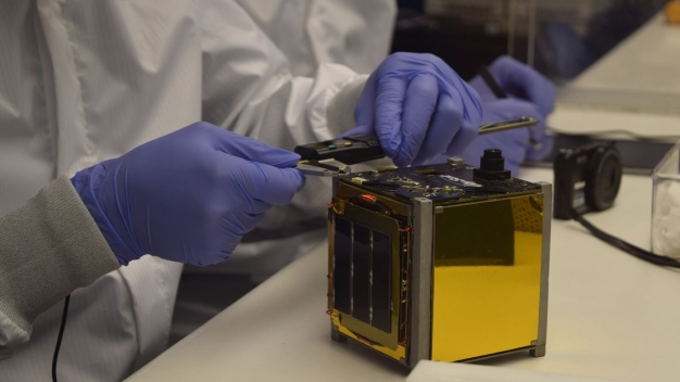 Students Prepare to Launch Satellite They Built Into Space
