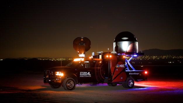 NBC Owned Stations Win Emmy for StormRanger Radar Truck