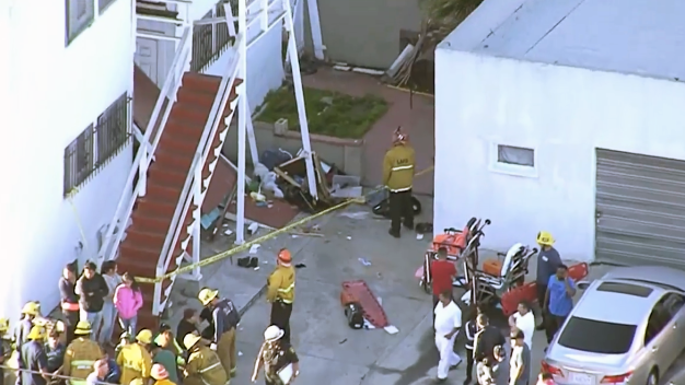 Balcony Collapses Under Apartment Residents in South Park