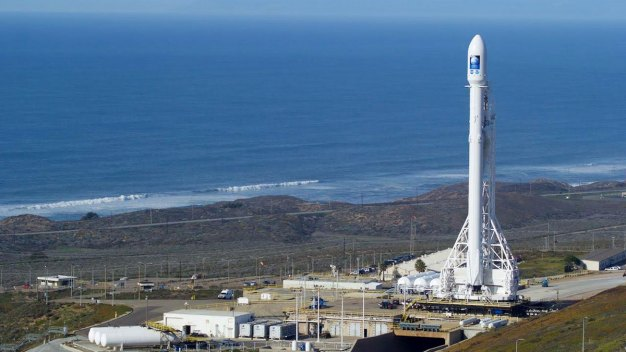 SpaceX Rocket Launch Scrubbed Due to Strong Winds