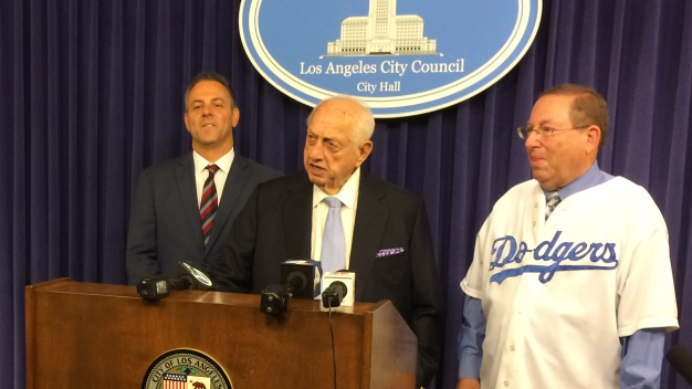 Tommy Lasorda Honored by City of LA