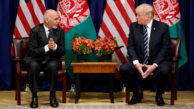 Afghan President Says Pakistan Must Crush Militant Hideouts