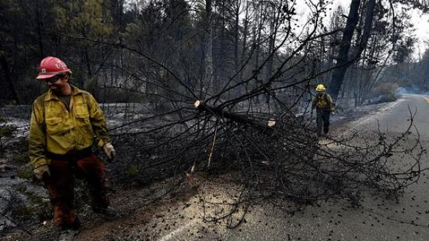 Valley Fire at 97 Percent Containment