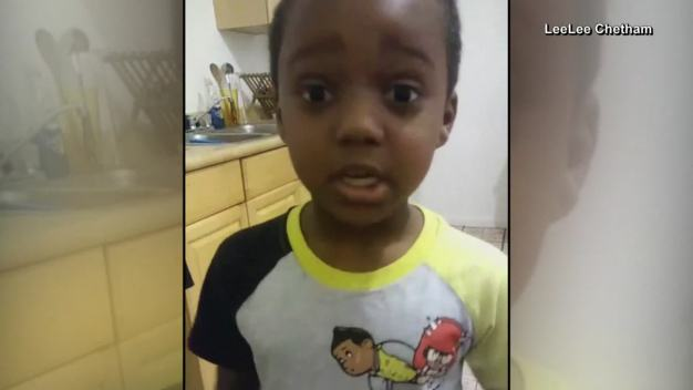 6-Year-Old Makes Plea to End Violence