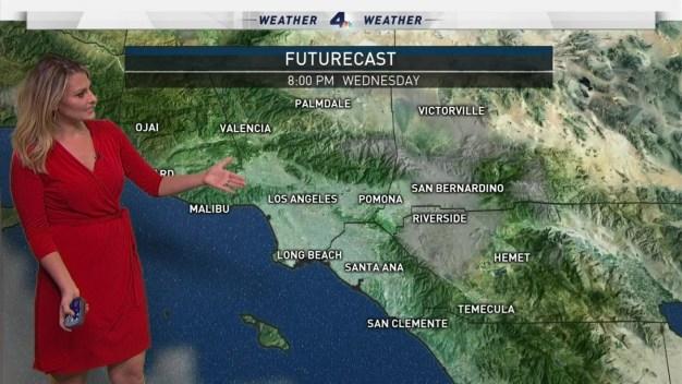 AM Forecast: Sunny; Storms Ahead