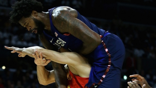 USA Basketball Routs China 106-57