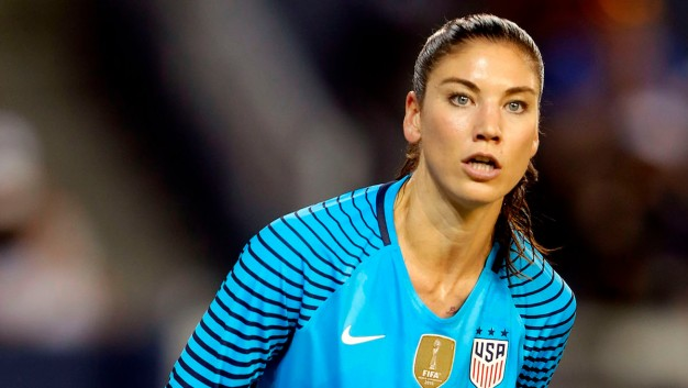 Hope Solo Suspended 6 Months for 'Cowards' Comment}