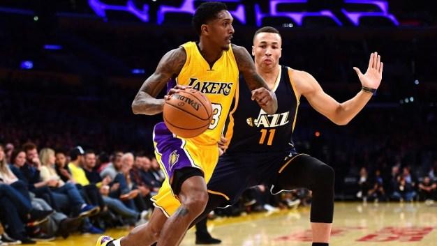 Lakers' Lou Williams Scores 38 Points Vs. Utah