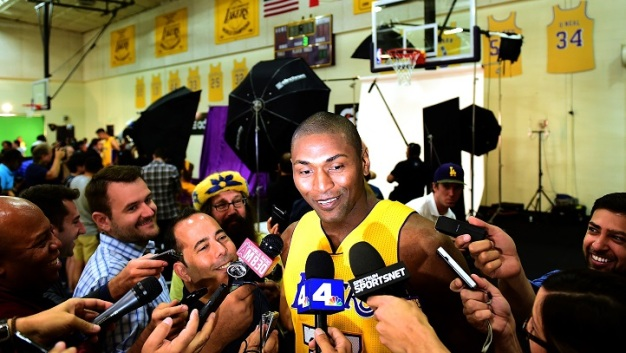 South Bay Lakers Hire Metta World Peace