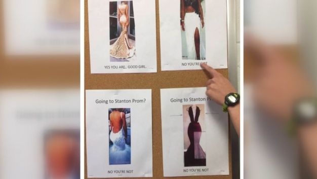 Prom Dress Guideline Fliers Slammed by Students for Sexism