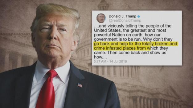 House Condemns Trump's 'Racist' Tweets