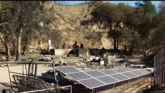 Reptile Ranch Destroyed By Creek Fire