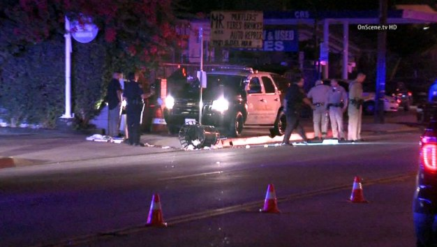 Officer Struck by Patrol Vehicle During Chase