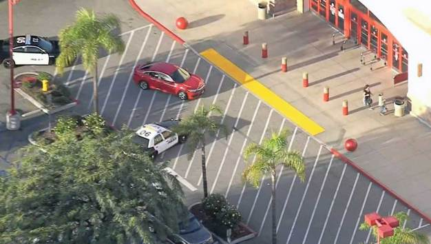 Pursuit Sends Shoppers Scattering in Target Parking Lot
