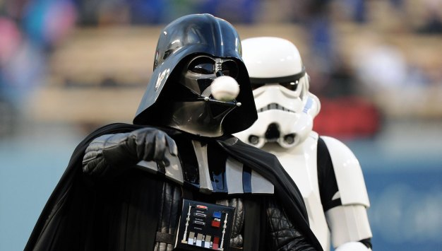 Dodgers Hold 'Star Wars' Night