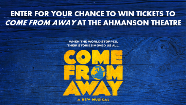 KNBC Center Theatre Group Come From Away Sweepstakes