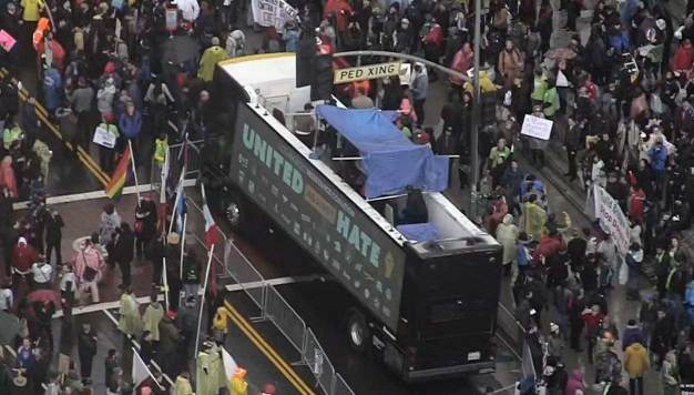 Trump Presidency Begins With Protests in Los Angeles