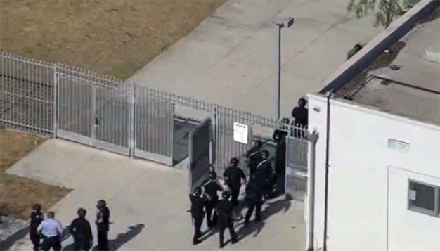 Bottles Thrown at Officers When Fights Breaks Out at SoCal High School