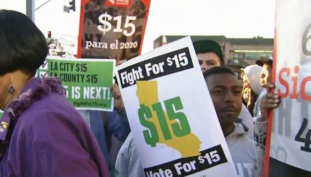Higher Minimum Wage Goes Into Effect in LA