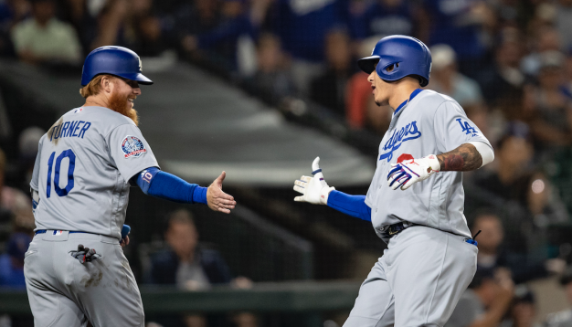 Manny Machado Hits 2 Homers as Dodgers Rout Mariners, 11-1
