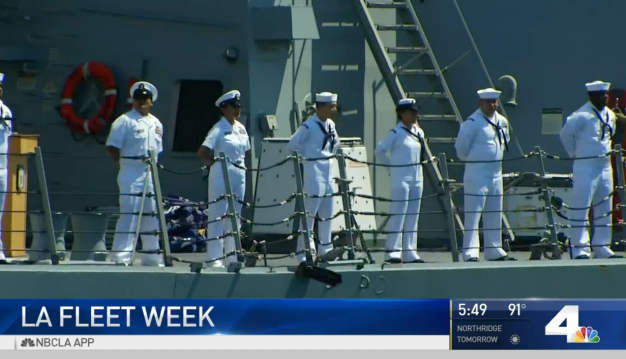 For First Time in Decades LA Hosts Fleet Week