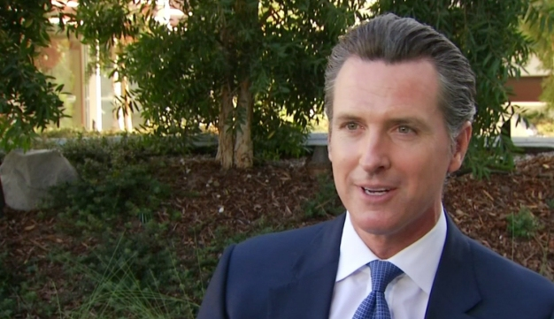 Newsom, Critical of Lieutenant Governor Role, Seeks 2nd Term