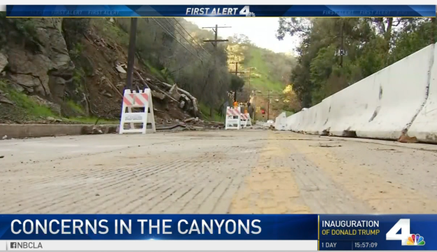 Concerns Over Laurel Canyon Boulevard as Storms Approach