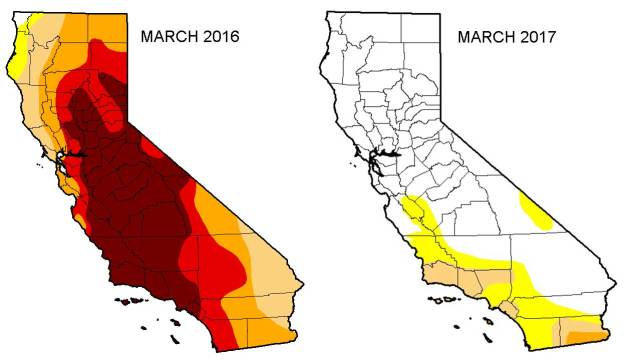 There's a Tiny Sliver of California Still in Severe Drought