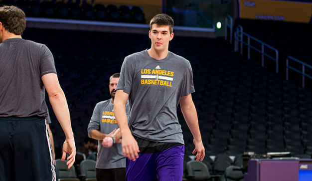 Lakers Rookie Ivica Zubac Raising Eyebrows
