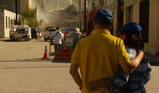 Residents Near 6 Street Bridge Demolition Have Dusty Dilemma