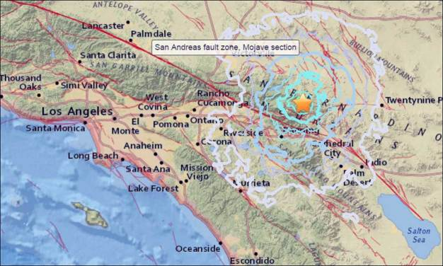 Magnitude-3.9 Quake Shakes Parts of Southern CA