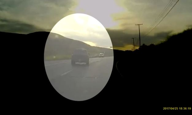 Video Shows Truck Driver Swerve, Nearly Hitting Oncoming Car