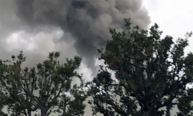Residents Near Simi Valley Business Park Fire Asked to Remain Indoors