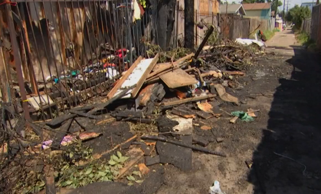Family Believes Fire That Destroyed Home Started in Homeless Encampment