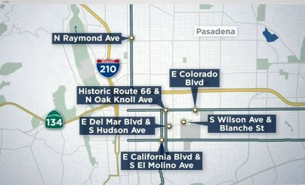 5 Strong Arm Robberies in 24 Hours in Pasadena