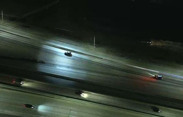 Driver Leads Pursuit in Corona Area
