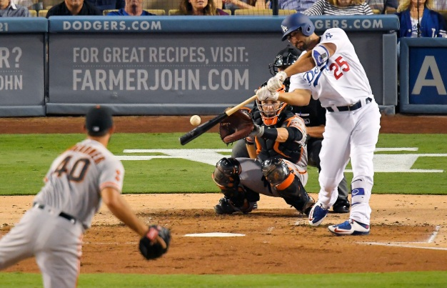 Oh Baby, What a Month for Dodger Rob Segedin