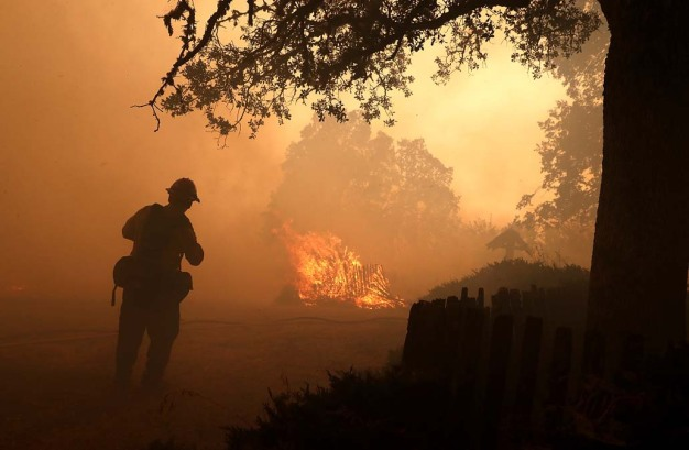Disaster Fires Take Physical, Emotional Toll on Firefighters