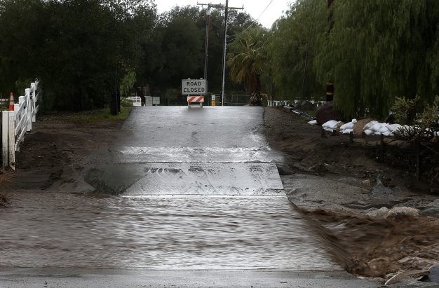 Strongest Storms in Years Soak California