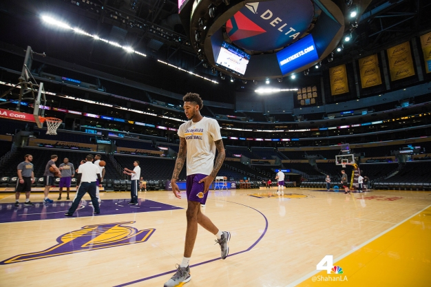 Lakers Photos: Behind the Scenes